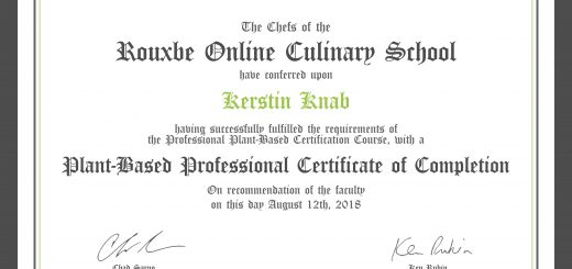 Plant-Based Professional Certificate